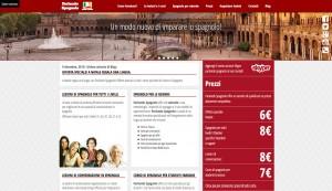Parlando Spagnolo website
